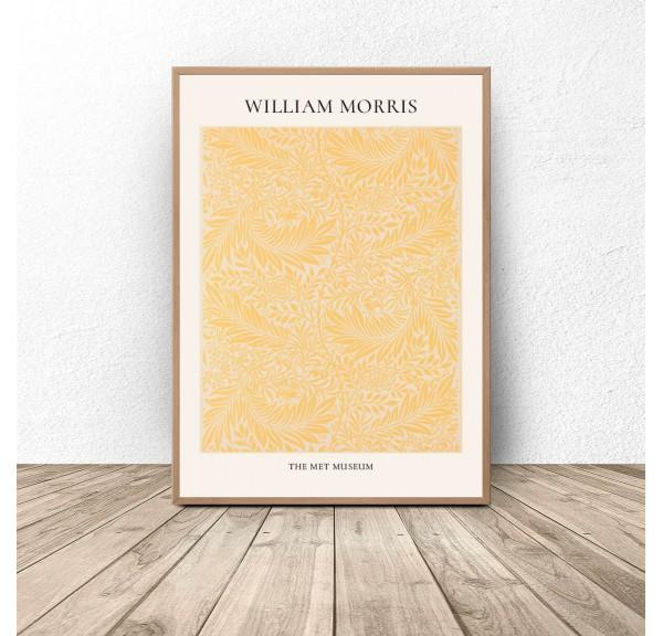 Plakat reprodukcja Ostróżka Larkspur William Morris