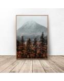 Plakat na ścianę Góry jesienią 2