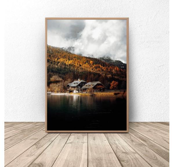 Plakat na ścianę Jesień w Austrii