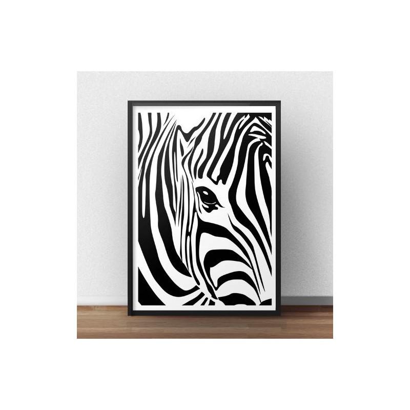 Zebra poster Zebra's Eye