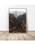 Plakat na ścianę Jesień w górach 2