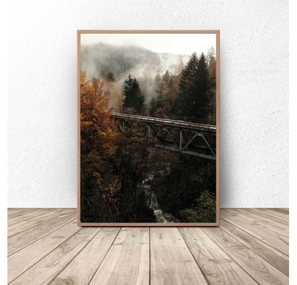 Plakat na ścianę Jesienny klimat