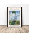 Plakat Kobieta z parasolem Claude Monet 3