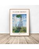 Plakat Kobieta z parasolem Claude Monet 2