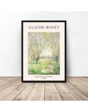 Plakat Kobieta siedząca pod wierzbą Claude Monet 3