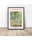 Plakat reprodukcja Mostek japoński Claude Monet 3