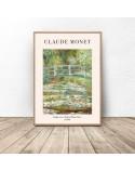 Plakat reprodukcja Mostek japoński Claude Monet 2