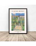 Plakat reprodukcja Ogród artysty Claude Monet 3