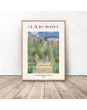 Plakat reprodukcja Ogród artysty Claude Monet 2