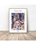 Plakat reprodukcja Burggarten Paul Klee 2