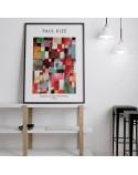 Plakat Redgreen and Violet-Yellow Rhythms Paul Klee