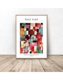 Plakat Redgreen and Violet-Yellow Rhythms Paul Klee 2