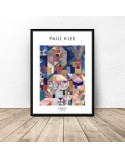 Plakat reprodukcja Burggarten Paul Klee 3