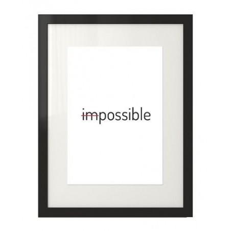 "Plakat typograficzny z napisem ""Possible"""