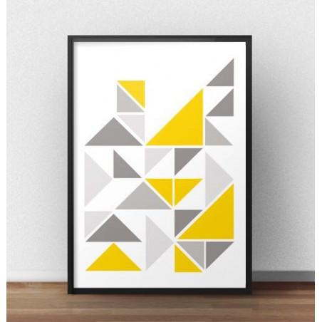 Skandynawska kompozycja trójkątów
