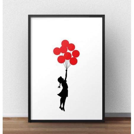 """Plakat """"Balloons"""" Banksy"""