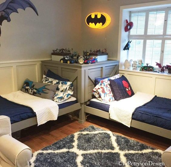 Czym udekorować ściany pokoju dla chłopca?