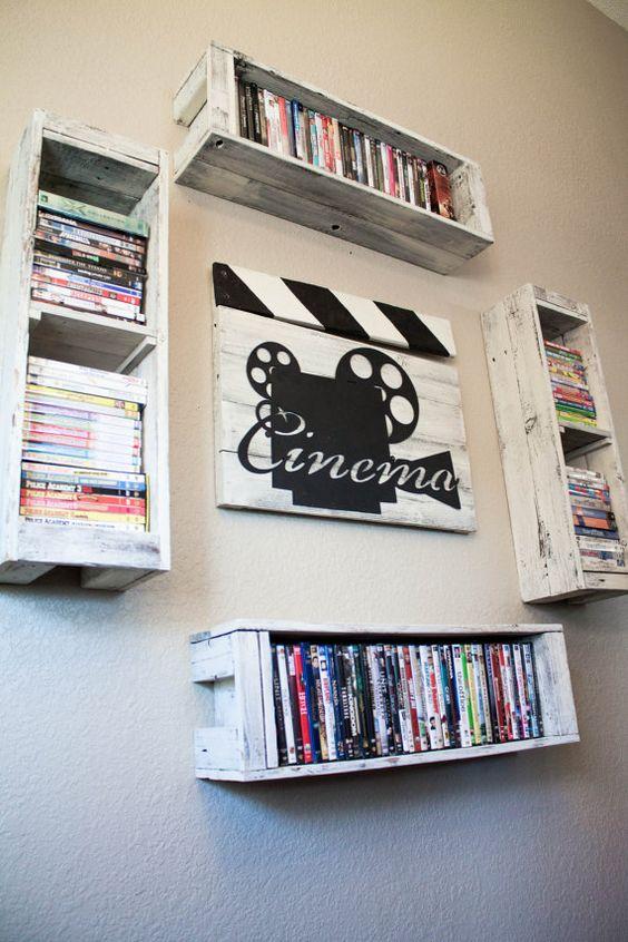 Pokój w stylu filmowym
