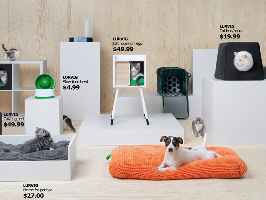 Wyposaż swojego psa i kota w IKEA