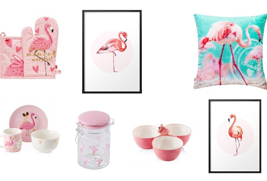 """Kolekcja """"Hello Flamingo"""" w sieci sklepów Home&You"""
