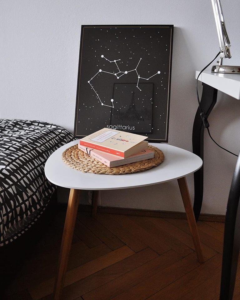 Kosmiczny, czarno-biały gwiazdozbiór strzelca