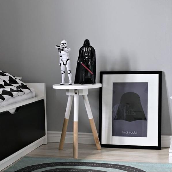 Pomysły Klientów Scandi Poster - pokój małego fana Star Wars