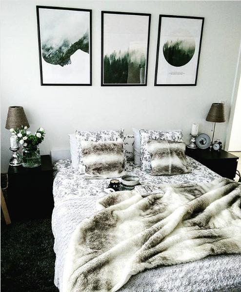 Pomysły Klientów Scandi Poster - a może plakat nad łóżko?